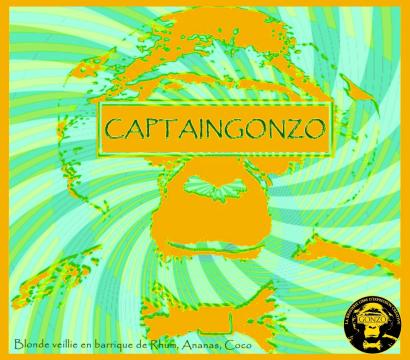 Étiquette Captain Gonzo